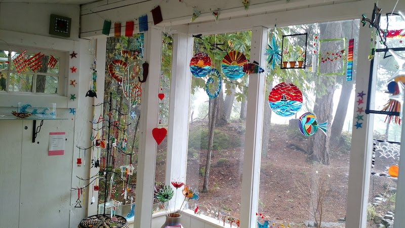 Fused Glass Garden Stakes - SOLD OUT