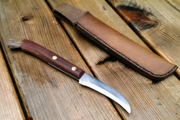 Building a Mushroom Collecting Knife - not available