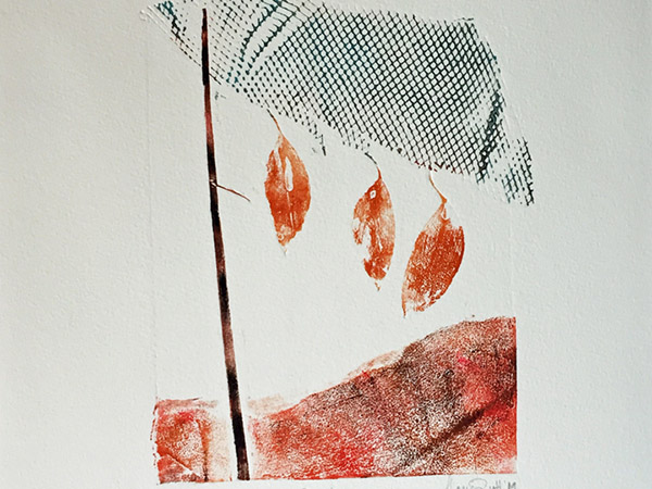 Collagraph Prints: Constructed Impressions