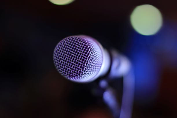 Facing the open mic